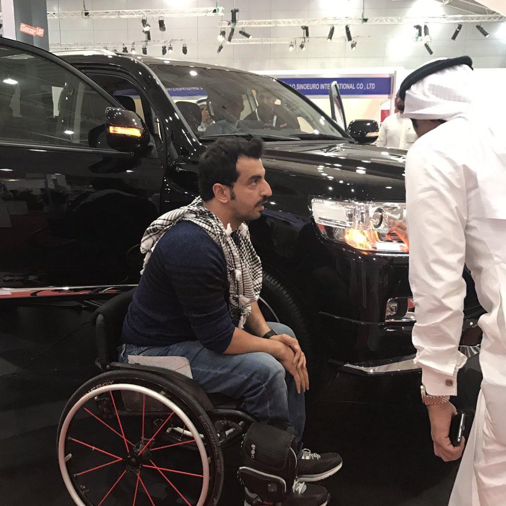 محمد الشريف اليوم زار السيارة المجهزة في جير اب تويوتا لاندكروز 😍❤️❤️ https://t.co/iEPPVAce1u