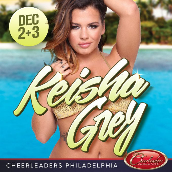 DEC 2+3 come party with me @CheerleaderPHL !! https://t.co/s37D509zpS
