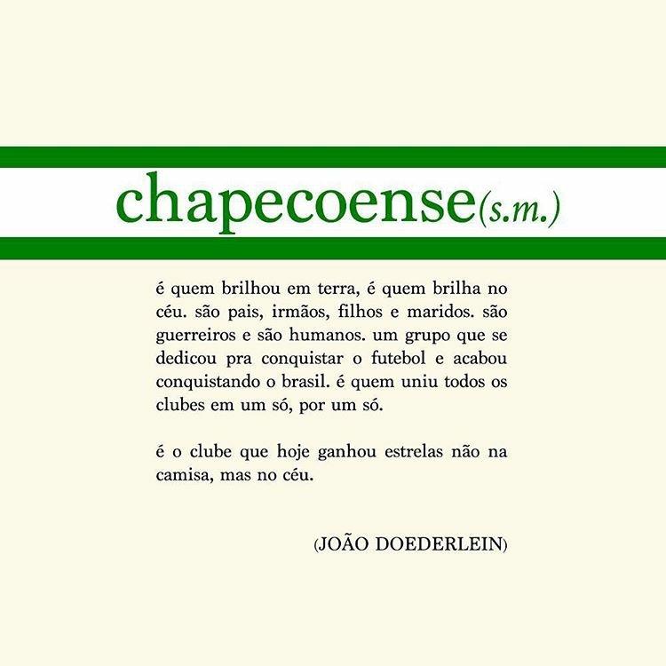 #SomosTodosChape: Somos Todos Chape
