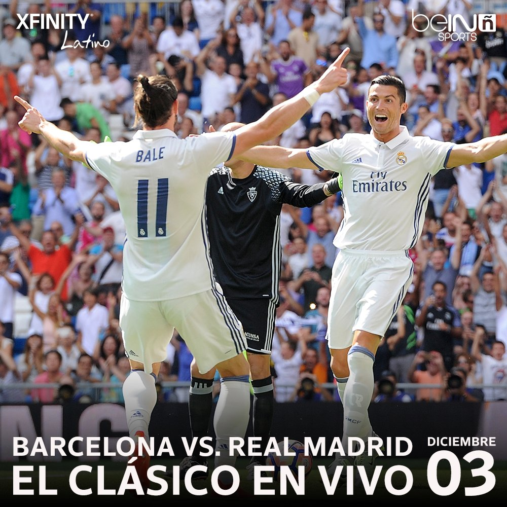 Real Madrid Vs Barcelona Xfinity Channel