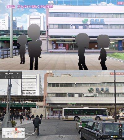 『3ねんDぐみ ガラスの仮面』第7話。どうやったらアルバイトを面白くし、心を熱くできるかを考えるため、北島マヤと姫川亜弓