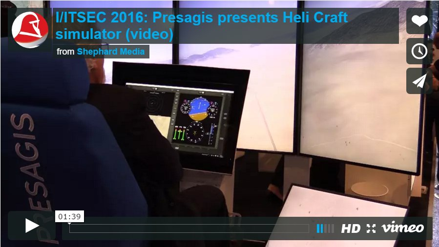 test Twitter Media - RT @ShephardNews: #IITSEC 2016 (video): Presagis presents Heli Craft simulator https://t.co/x33lVT6kQA @presagis https://t.co/HPqy75q5Mc