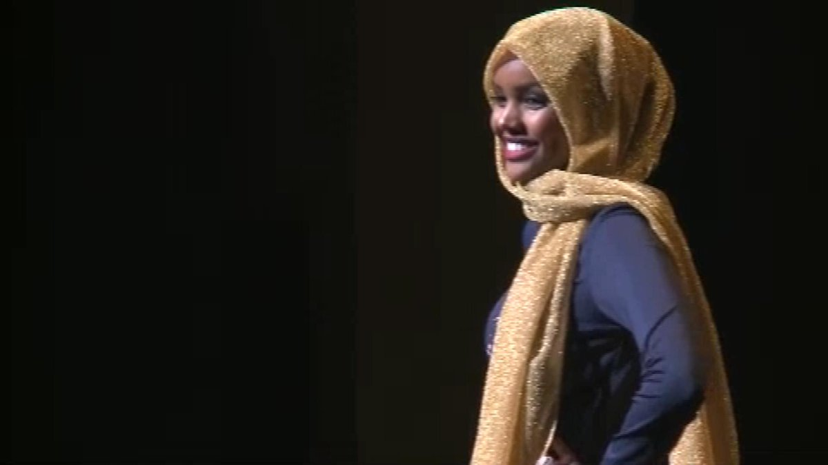 Teen becomes first contestant to wear hijab in Miss Minnesota USA pageant