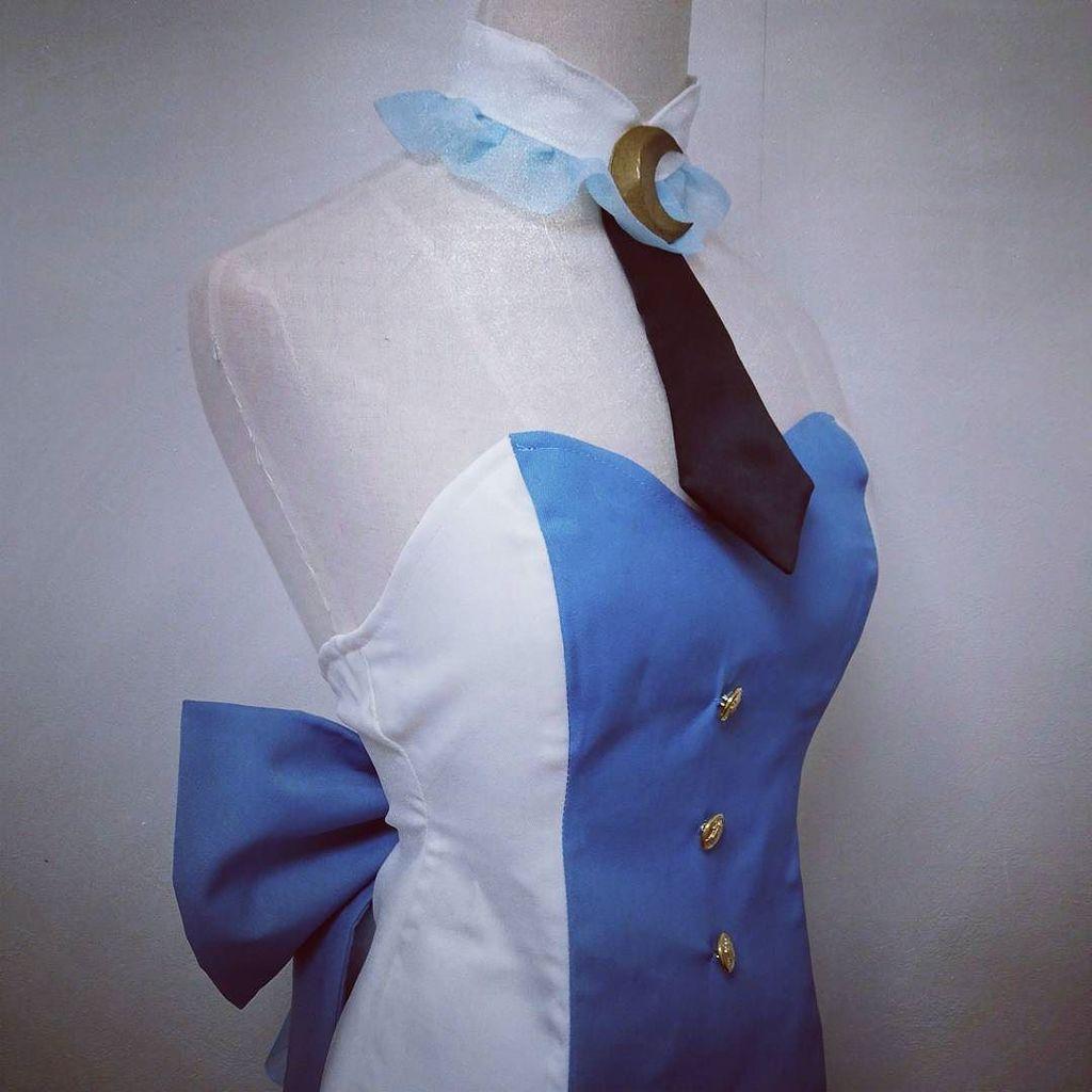 衣装も出来てます♪#ユリ熊嵐 #椿輝紅羽 #コスプレ衣装製作