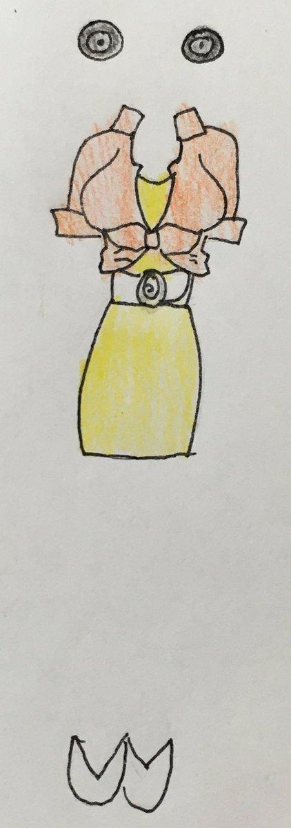 ヒーローバンクのミス・ブラウン  #女神のドレスデザインで再現して欲しい衣装 #女神のドレスデザイン #メガドレイン #