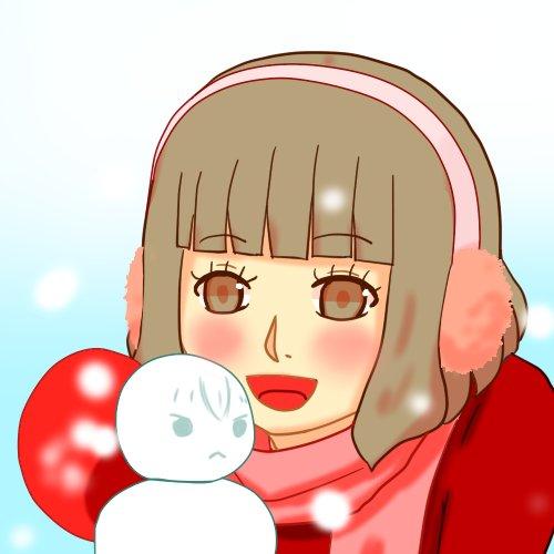 「ももくり」のユキでお題の「雪」もも君雪だるまと一緒#comico版深夜の真剣お絵描き60分一本勝負