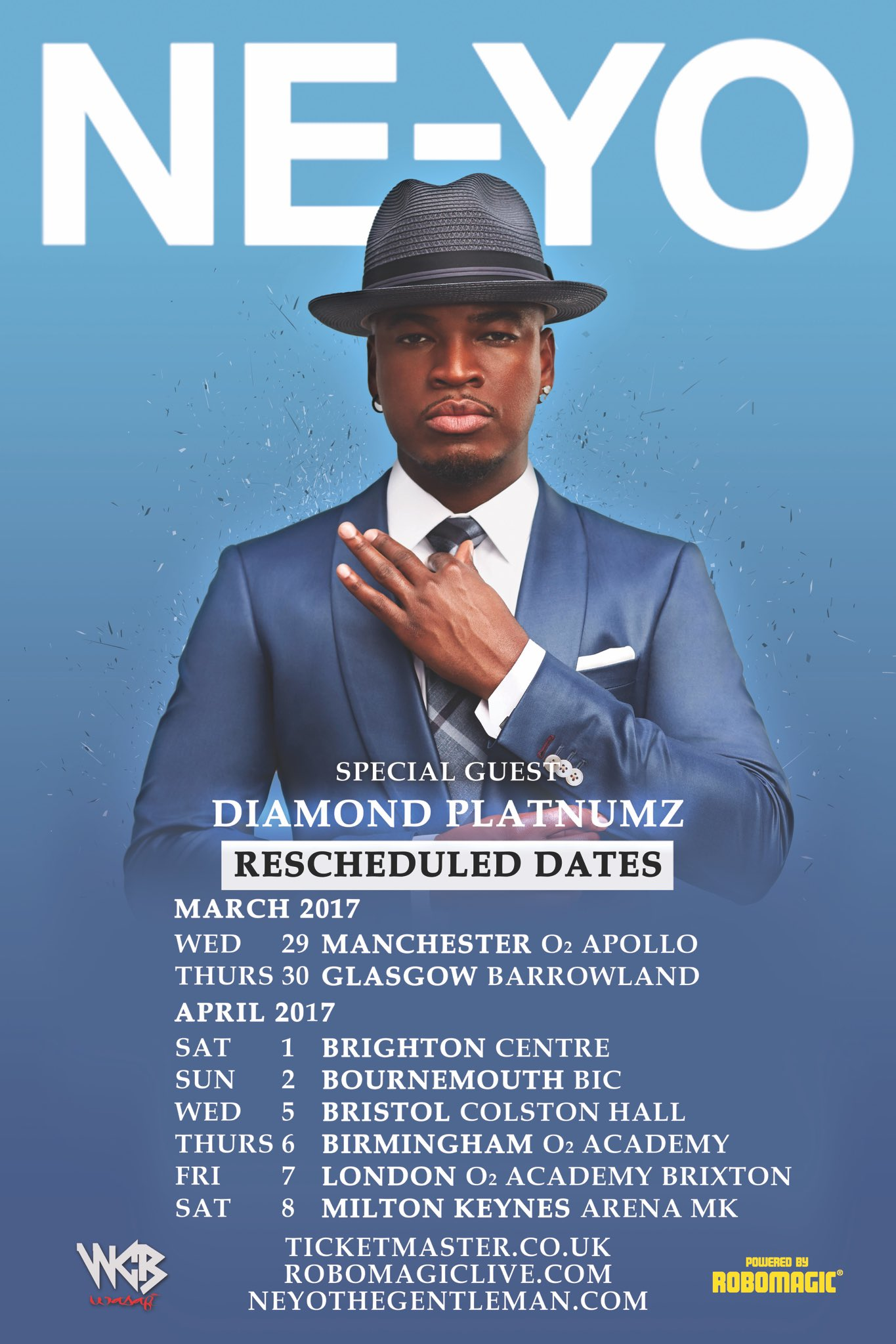 UK! I'm headed your way with NEW DATES with my bro @diamondplatnumz. 2017, let's turn up! #NEYOUKLive https://t.co/EOAh4TPOY7