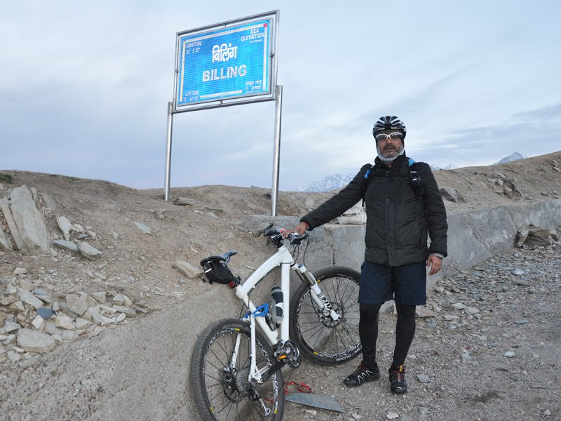 Sharang Rathore - The man who outscored the altitude of Mount Everest via cycling, by @mukeshthapTOI https://t.co/tiiy0dOfim