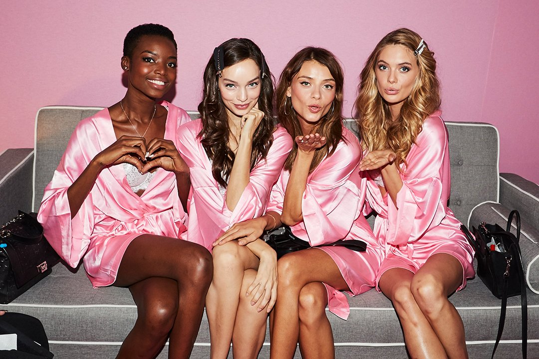 These beauties are almost runway ready! #VSFashionShow films today in Paris, and airs Dec. 5, 10/9c on @CBS. https://t.co/Io0J09ReOj