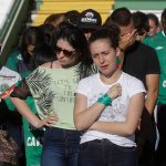 Football mourns Brazilian players killed in air crash, lack of fuel suspected