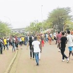 Cameroon varsity students protest