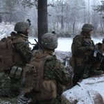 A new cold war: US Marines' wintry war games on Norway-Russia border