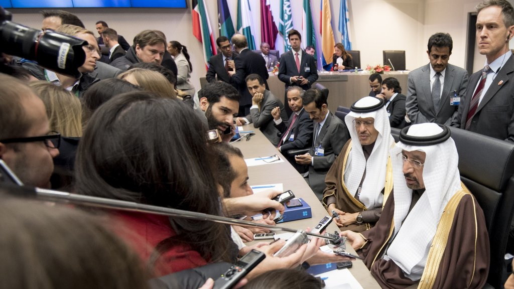 OPEC agrees to slash daily output in bid to raise global oil prices