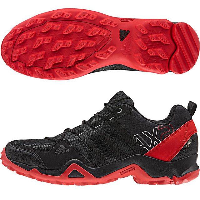 アディダス (adidas) AX2 Gore-Tex(コアブラック×ビビッドレッド×ダークグレー) AQ4045 [分