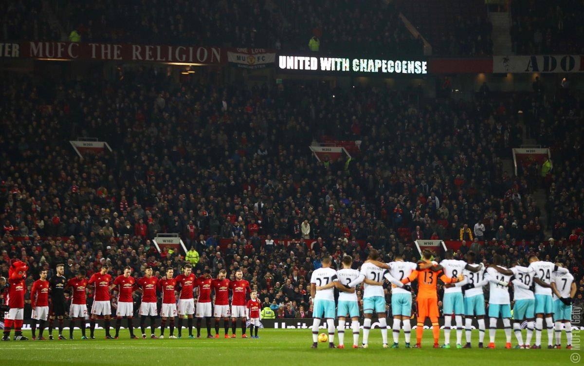 RT @ManUtd: United with Chapecoense. ???? #ForcaChapecoense https://t.co/ivsdpHmsne