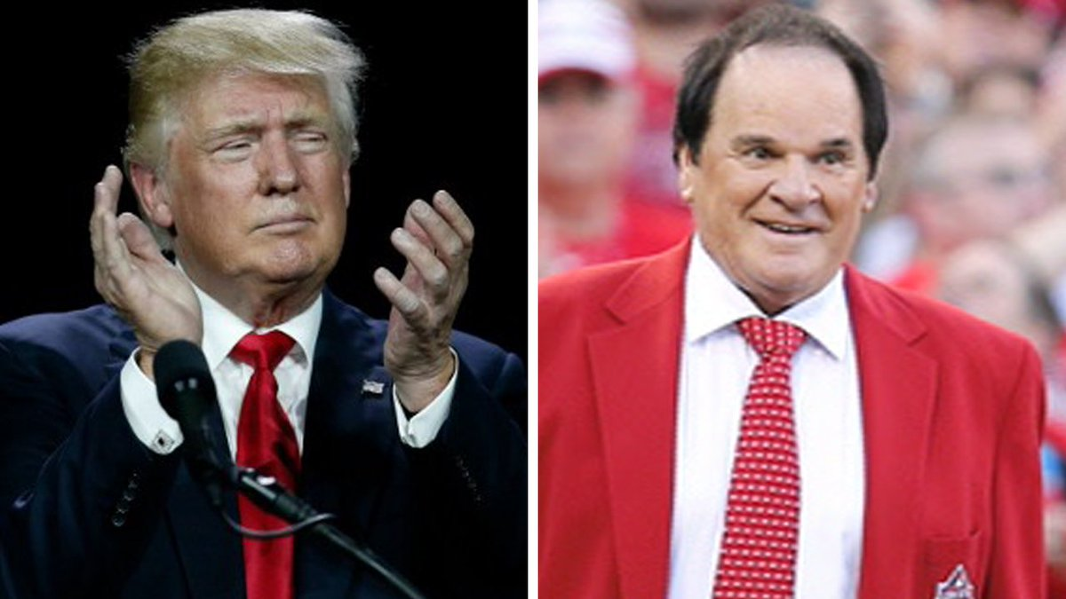 Will Donald Trump pardon Pete Rose from baseball purgatory?