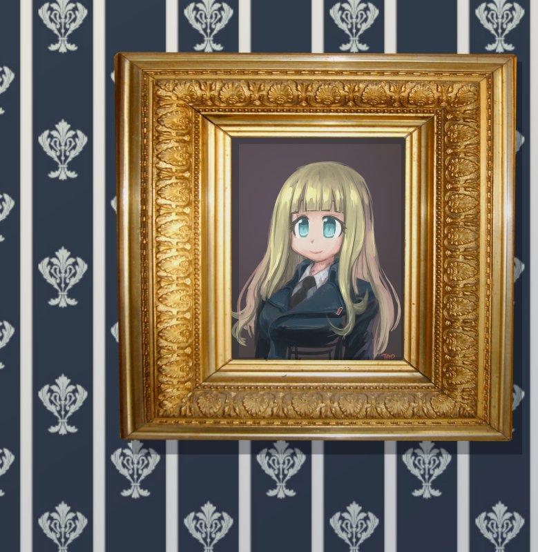 ローゼンさんの肖像画。#ミリ姫