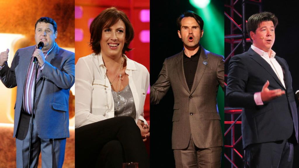 We reveal jaw-dropping wealth of top-earning comedians from Ricky Gervais to Peter Kay, Jimmy Carr and Miranda Hart