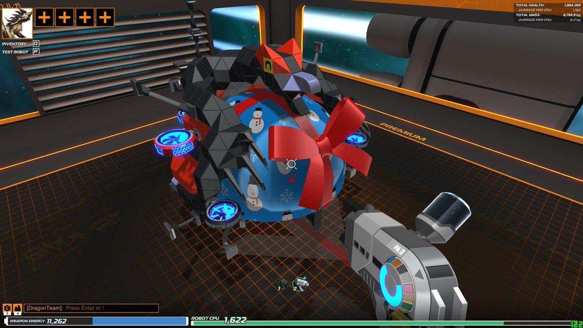 #MHST #モンスターハンターストーリーズ #Robocraft #ロボクラフト今回のオトモンはこの、プレゼントにくっ