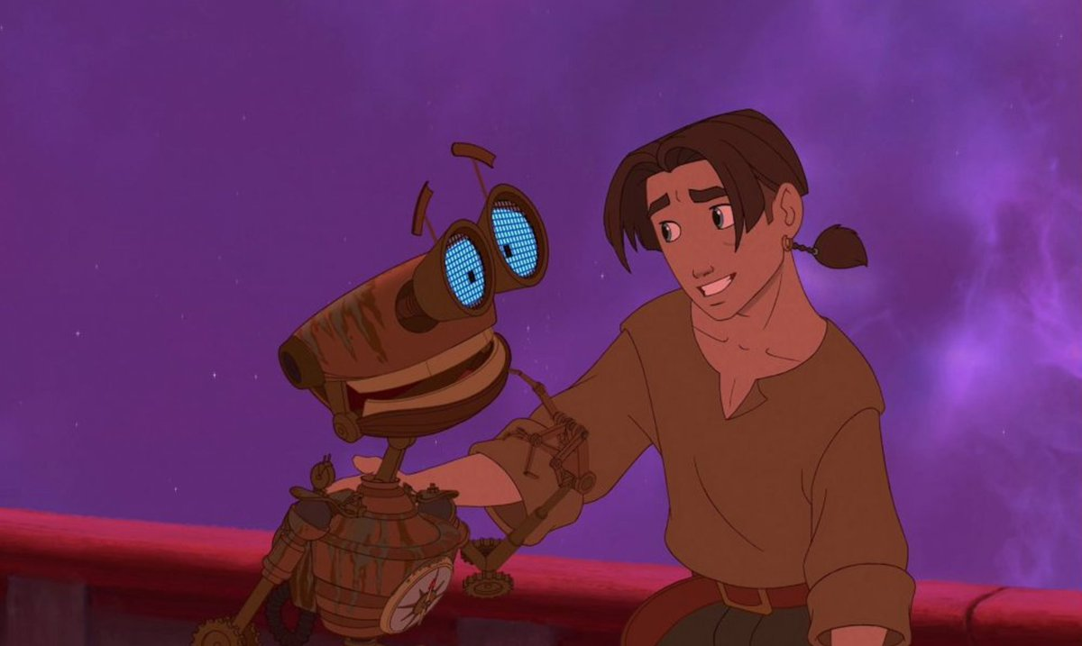 Me, animated. #TreasurePlanet #TBT https://t.co/M2GeEWcoP8