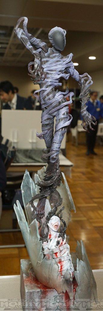 【第38回宮沢模型展示会】グッドスマイルカンパニー・スケールフィギュアの亜人はかなりスゴイ造形に。 にまとめます