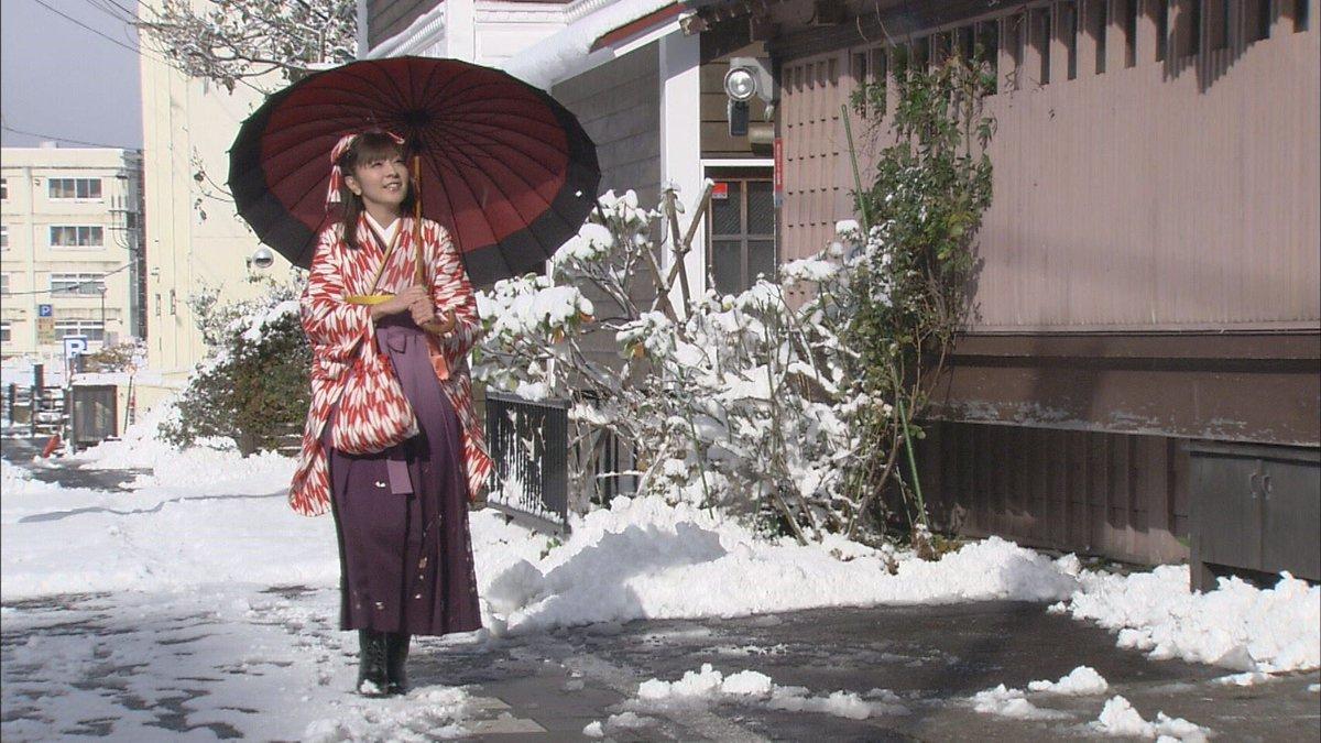 ハイカラさん( ´ ▽ ` )仕事でこういう衣装着られるの嬉しいっ😊👍#北海道すたいる #ちはやふる#カルタは得意じゃな