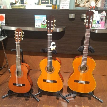 プレゼントにミニギターはいかがですか✧AriaのA-20シリーズは、通常のクラシックギターに比べて弦の長さが短くボディも