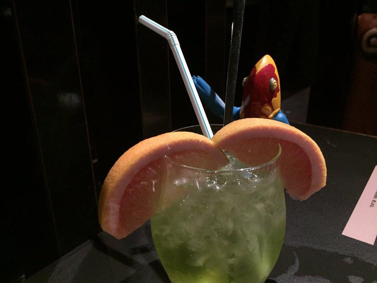 月初めの独り酒 at 怪獣酒場。安らぎ(*´-`)