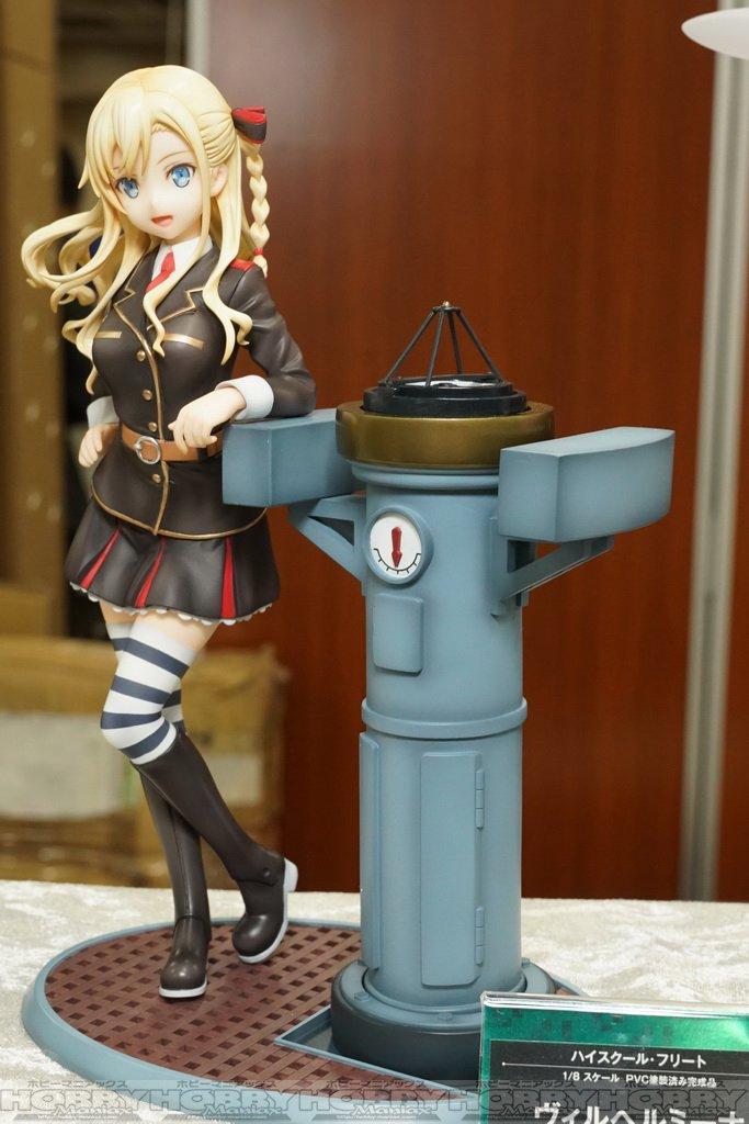 【第38回宮沢模型展示会】コトブキヤ・『ハイスクール・フリート』のヴィルヘルミーナがスケールフィギュアに。付属の羅針儀が