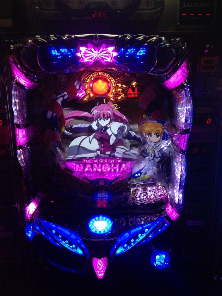 コニチィ(・∀・)ノ12/2からCR魔法少女リリカルなのは、CRガールズ&パンツァーが新台として稼動します!!是非遊びに