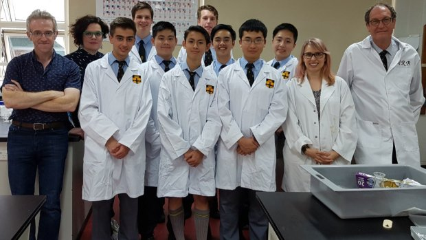 Martin Shkreli's $750 life-saving drug recreated by high school students for $2