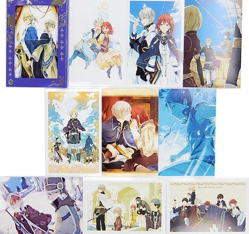 赤髪の白雪姫 ポストカードコレクション(10枚セット) LaLa 2015.../ポストカード(キャラクター)100円値