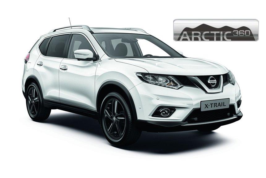 Кроссовер Nissan X-Trail Arctic 360: спецсерия из 900 машин