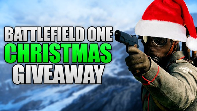 10 COPIES OF BATTLEFIELD ONE! (Christmas Giveaway Week #1)