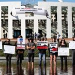 Australian parliament hit by second dramatic protest