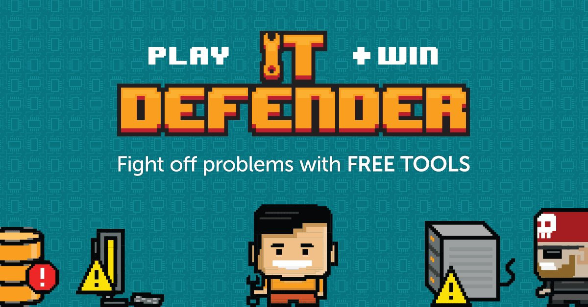 A t-shirt is the ultimate trophy. Play our #ITDefender game and get entered to win prizes! https://t.co/SGMAbWfoh6 https://t.co/tRBmiCdwwA