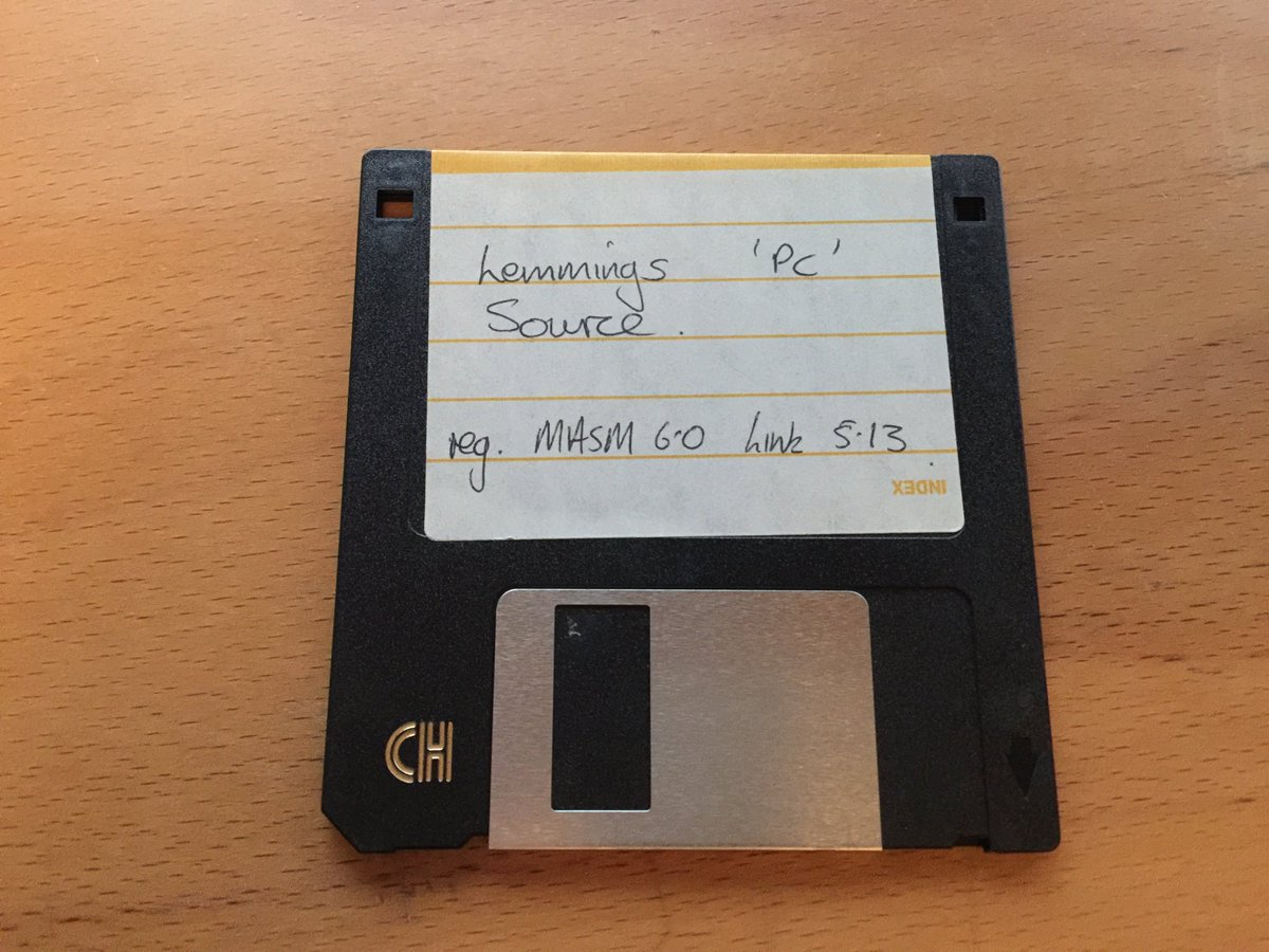 The things you find.....  #Lemmings #DOS #ASM #x86 #DMADesign #retro https://t.co/UVhsVyXZGu