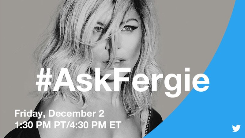 Doing a Twitter Q&A tomorrow at 4:30pm EST. Tweet me your Q's using #AskFergie ???????? https://t.co/Mm6D6JyBdm