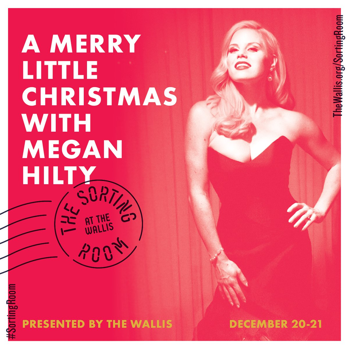 RT @TheWallisBH: Don't you want to celebrate the holidays with @meganhilty in The #SortingRoom? https://t.co/kmsPlRQIIO