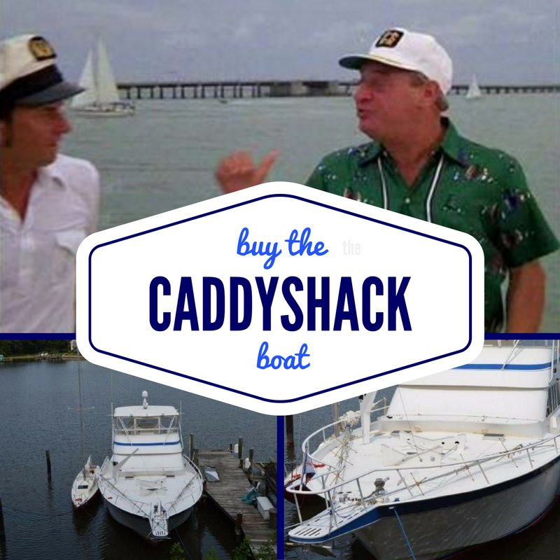 The infamous 1979 Striker from #Caddyshack is for sale from @yachtworld https://t.co/6pc5our8vY https://t.co/MKwqv90X7r