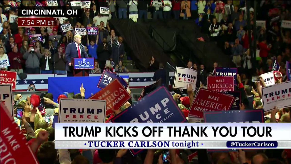 .@realDonaldTrump: 'We pledge allegiance to one flag, and that flag is the American flag.'