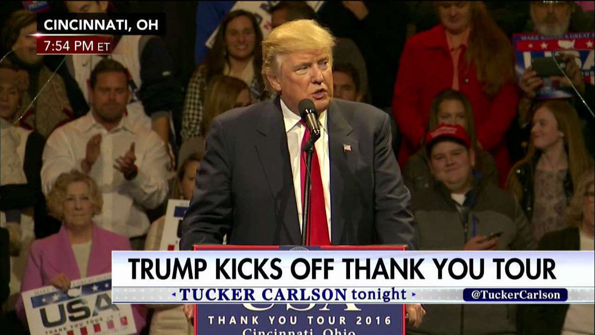 .@realDonaldTrump: 'From now on, it's going to be America first... We are going to put ourselves first.'
