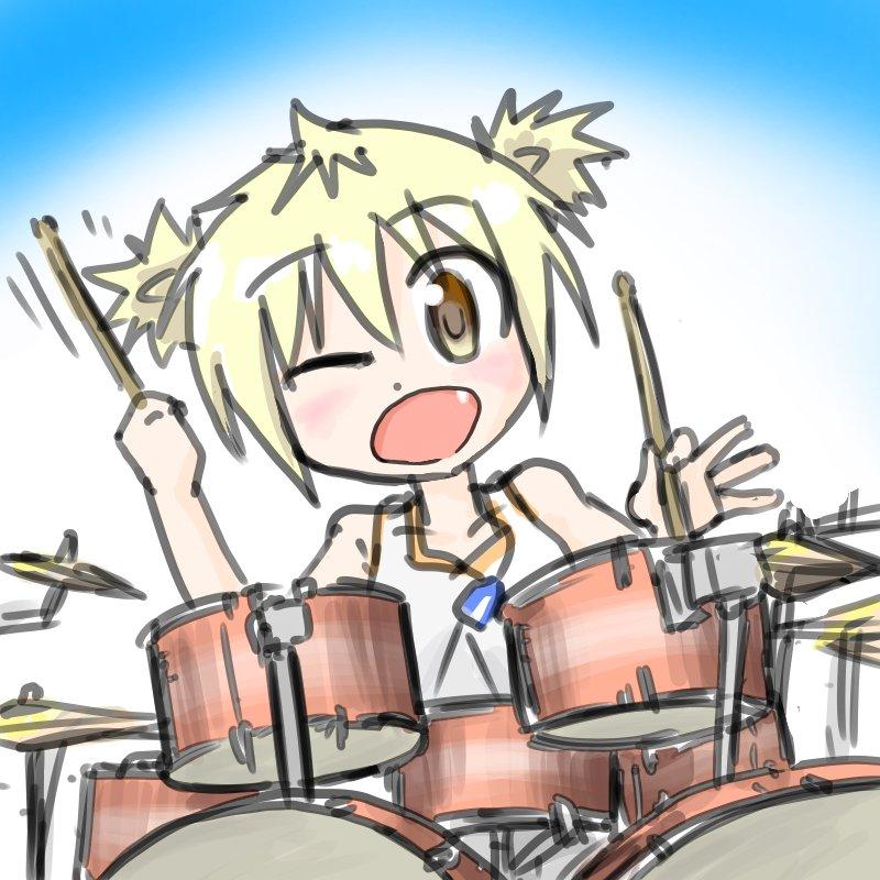 灼熱スイッチのリズム隊(・∀・)イイ!!、特に間奏後のドラム好きw#天下ハナビ #灼熱スイッチ #灼熱の卓球娘 #ドラム