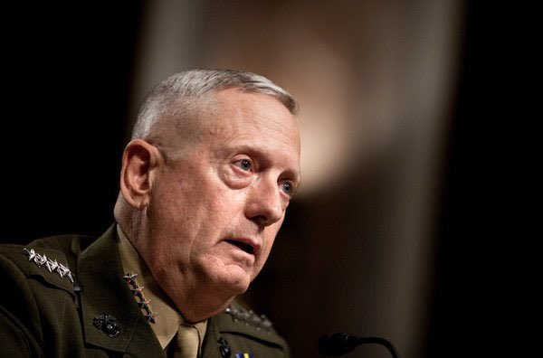 Thank you @realDonaldTrump, for appointing James Mattis, an experienced General, instead of a bureaucrat!!!! 👏🏻👏🏻👏🏻