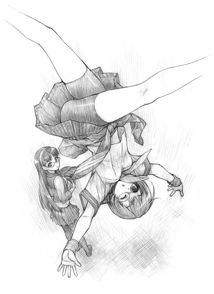 千枝ちゃん | 橋本タカシC91 3日目a37  #pixiv唐突に過去絵をアップ 『ペルソナ4』千枝ちゃん 赤いきつね