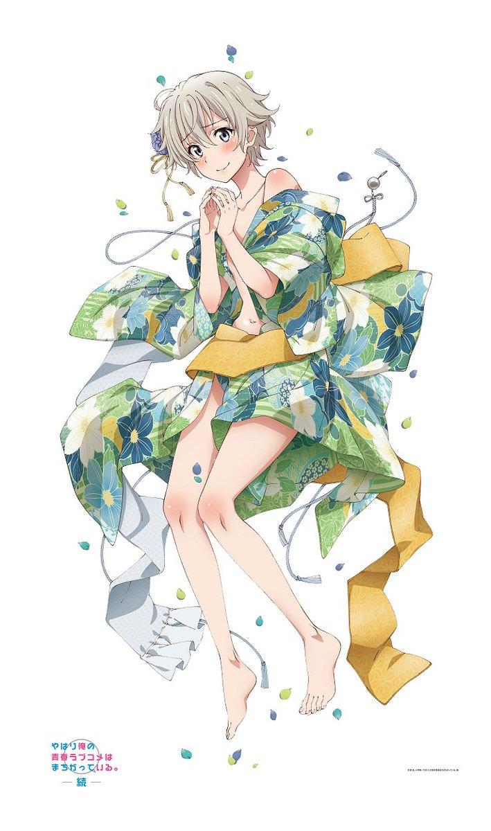 【俺ガイル】戸塚&いろはの着物姿の、描き下ろしツイルマルチクロスが発売予定です!引き続き情報をお待ちください。#俺ガイル