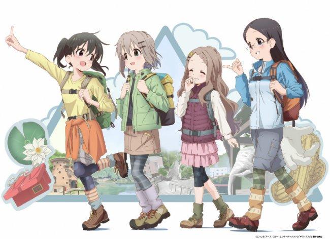 TVアニメ『ヤマノススメ』 オリジナルグッズが飯能市ふるさと納税制度の返礼品として12月2日登場  さんから
