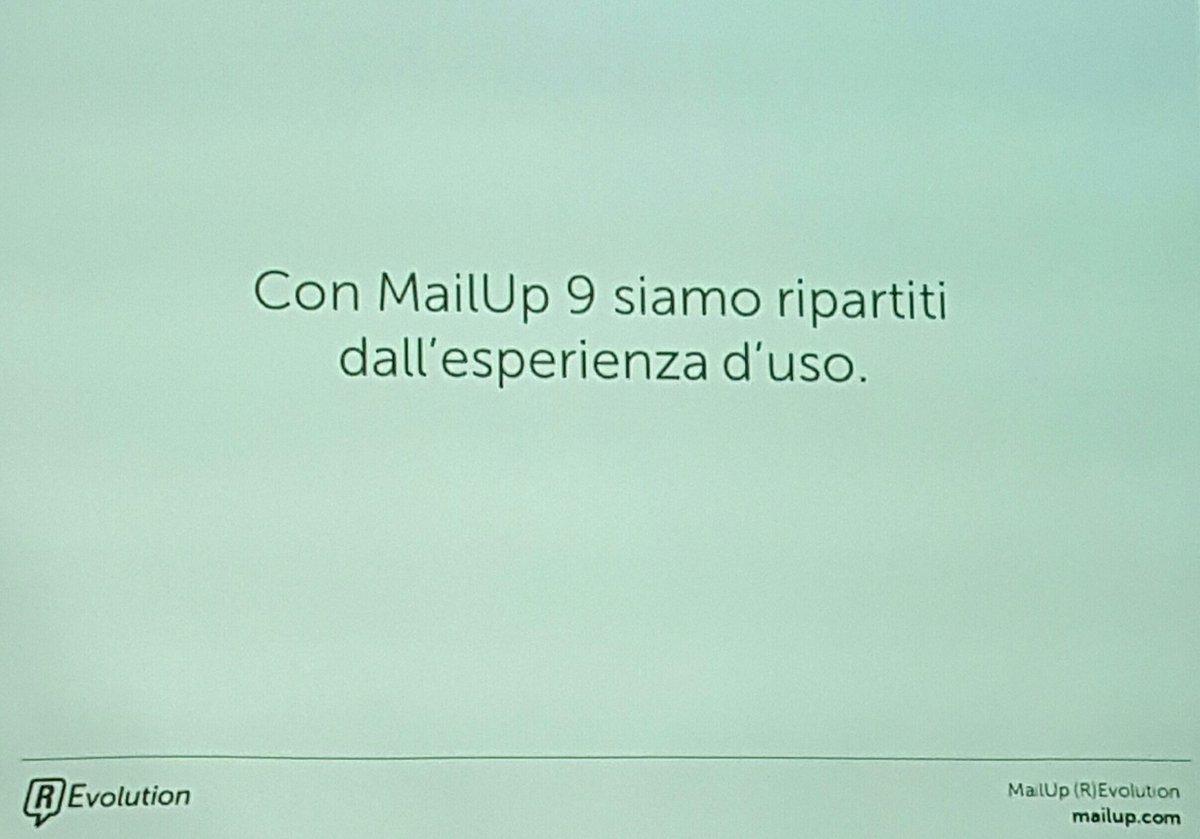 #MailupRevolution
