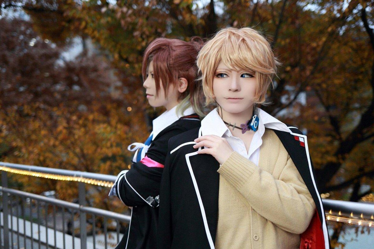 【DIABOLIK LOVERS】ユーマ:たろシュウ:和雪Photo:よっしーさんTDCで念願のユマシュウ😍綺麗に撮って