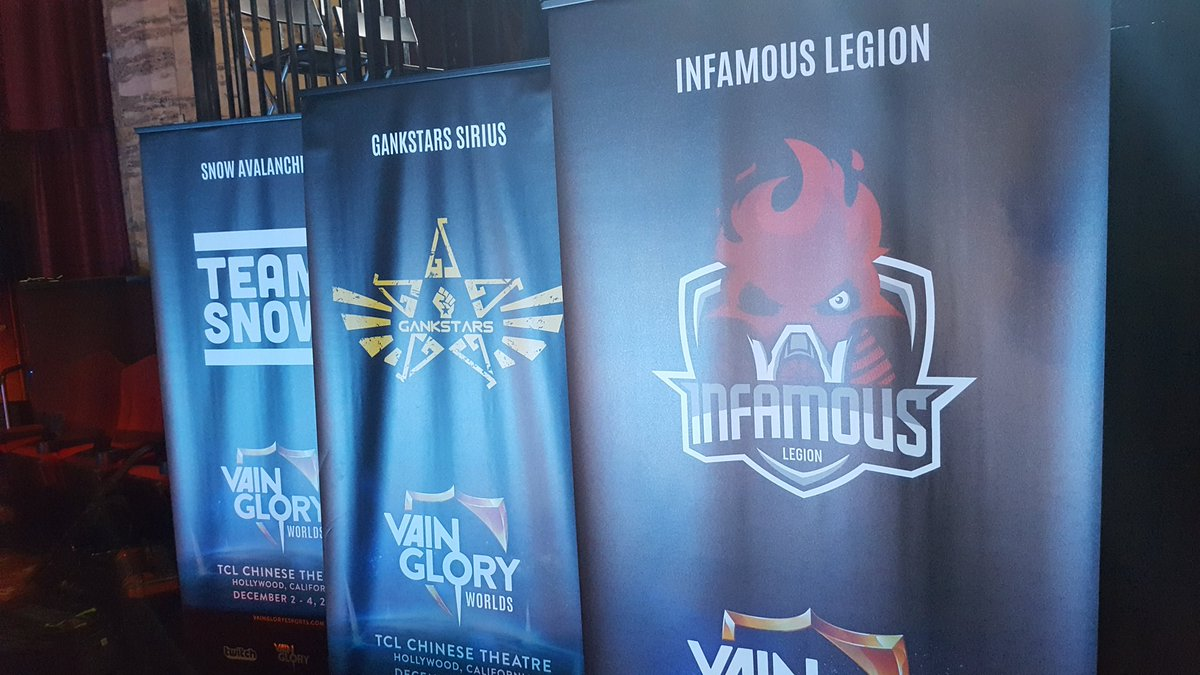 Groups are set and the doors will be open soon! It's day 1 of #vaingloryworlds ! https://t.co/XOchMZ7BC5